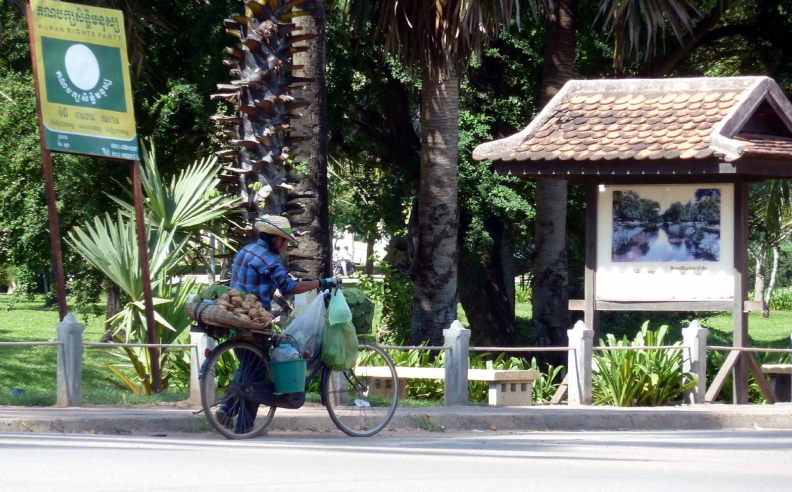 カンボジアで海外ボランティア 到着案内